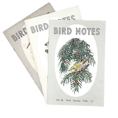 Collection Illustrated Bird Notes 1955 - 1961