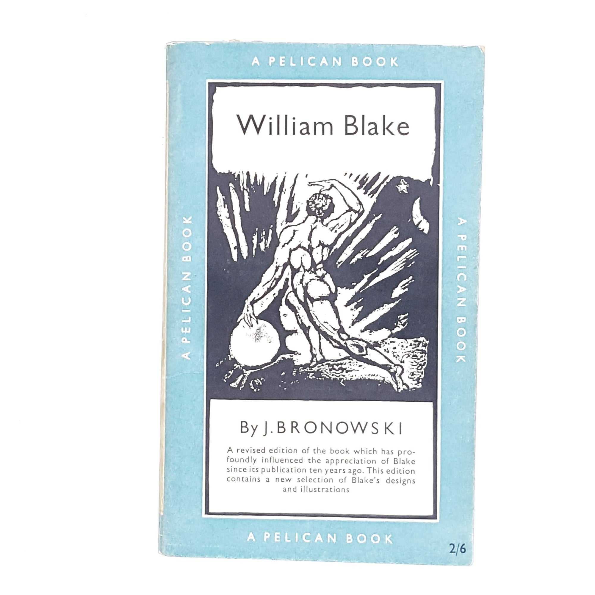 William Blake by J. Bronowski 1954