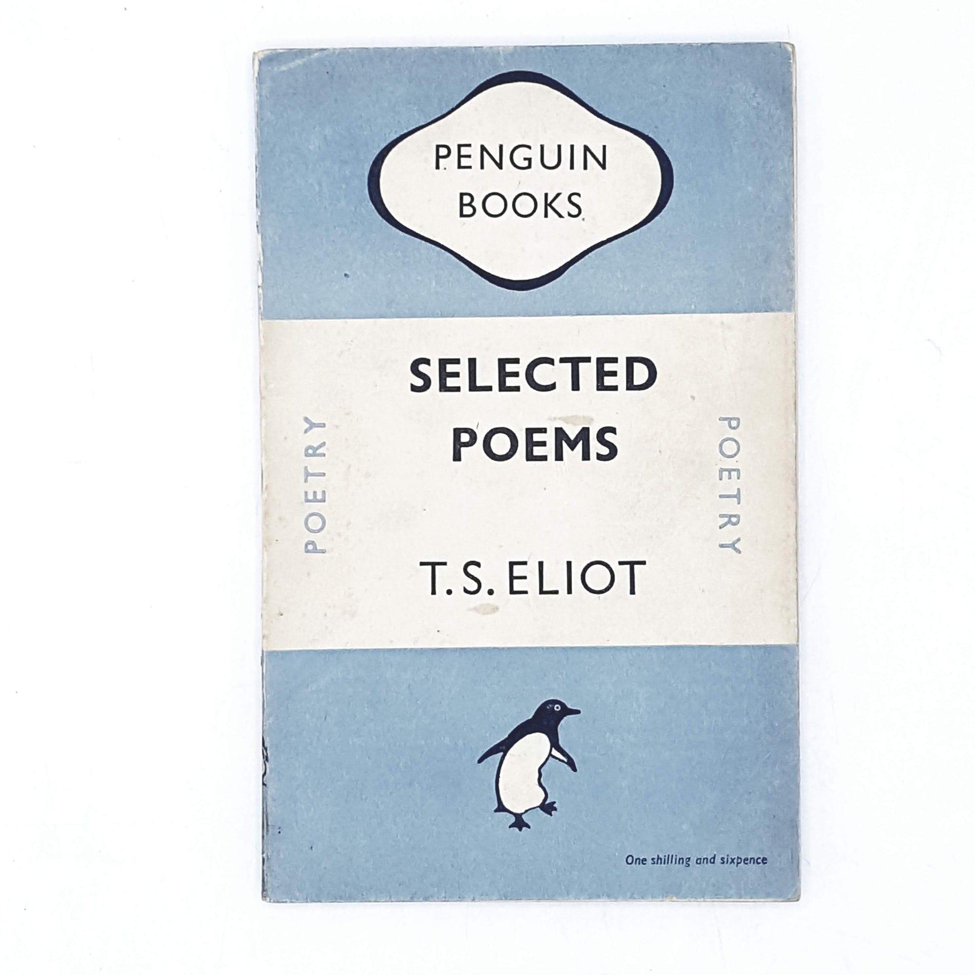 first-edition-penguin-sky-blue-ts-eliot-poetry