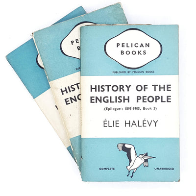 Collection History of the English People by Elie Halie 1939 - 1940