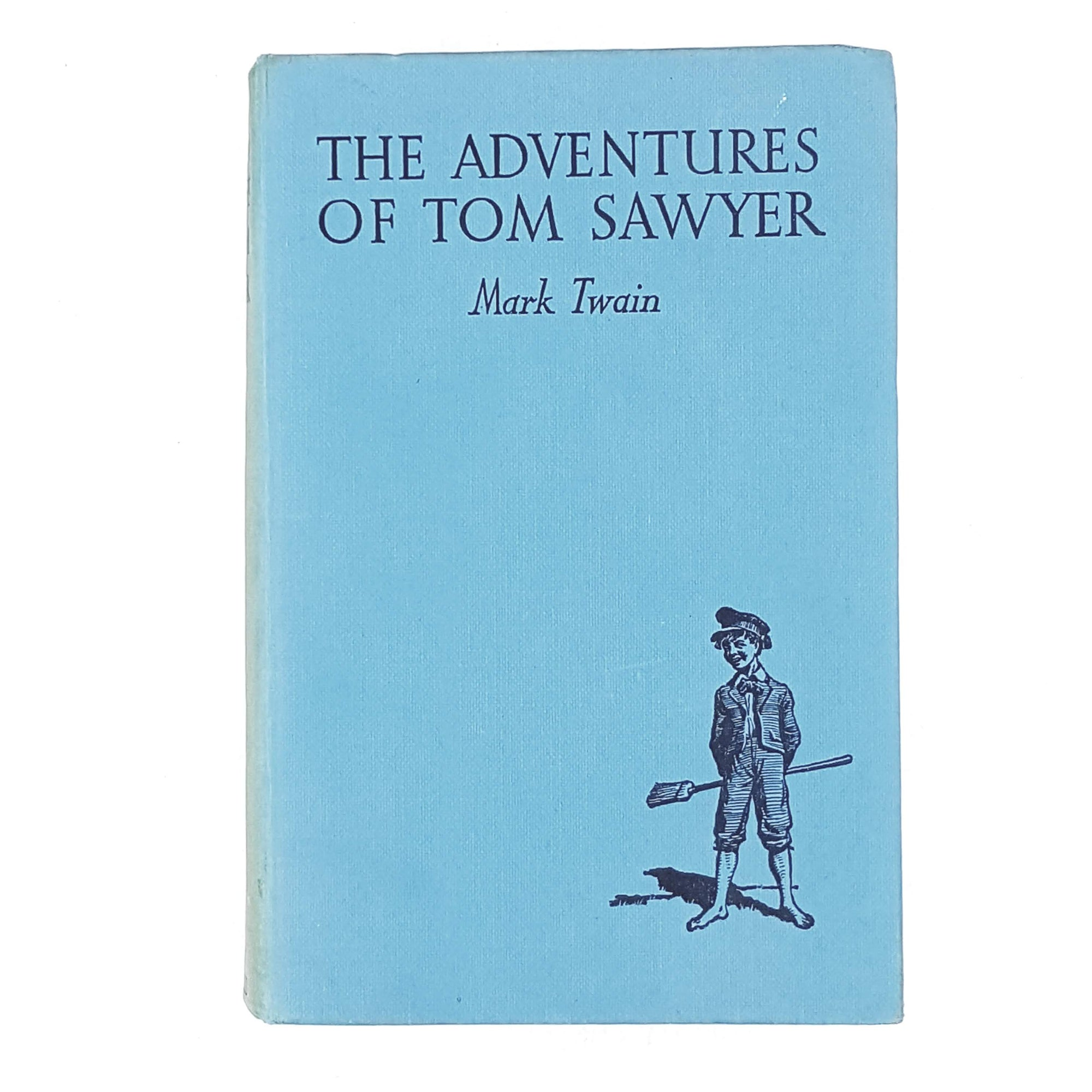 Mark Twain's The Adventures of Tom Sawyer sky blue