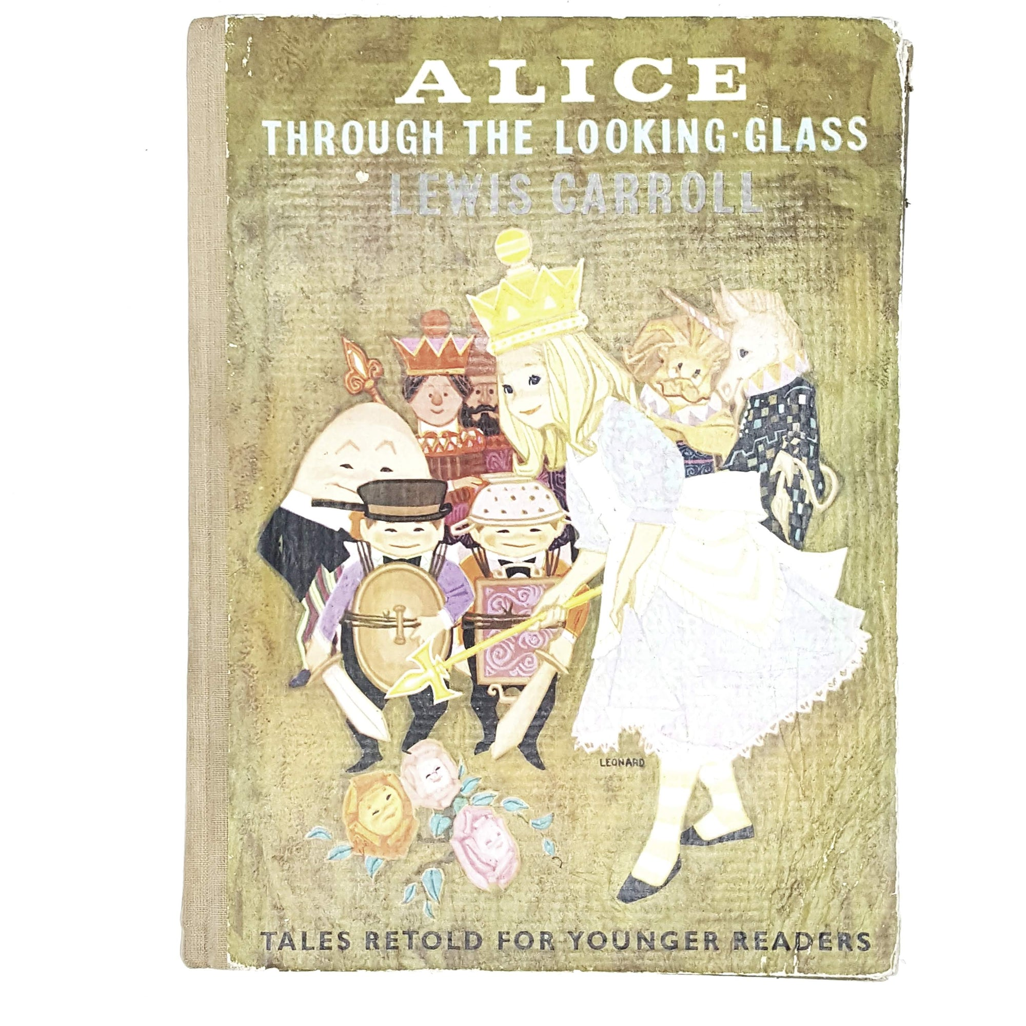 Lewis Carroll's Alice Through the Looking Glass Golden Pleasure Books ltd