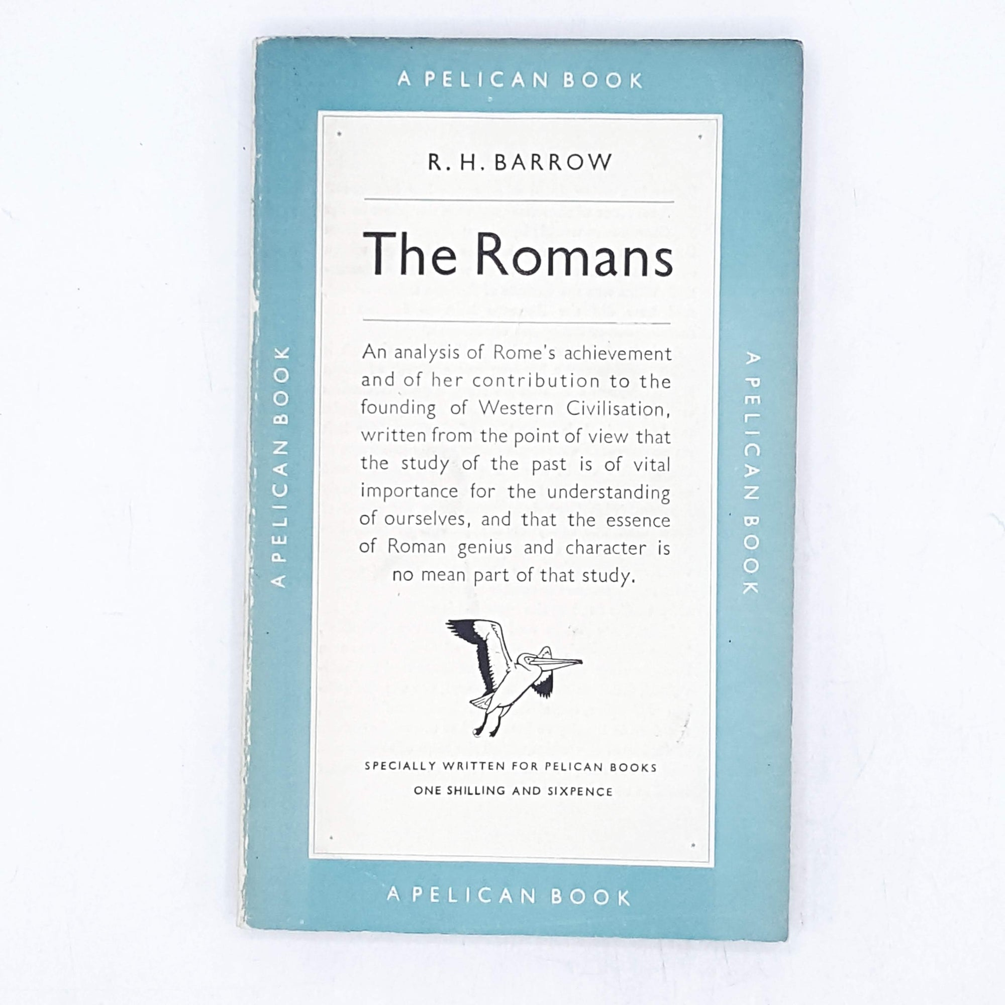 The Romans by R. H. Barrow 1949