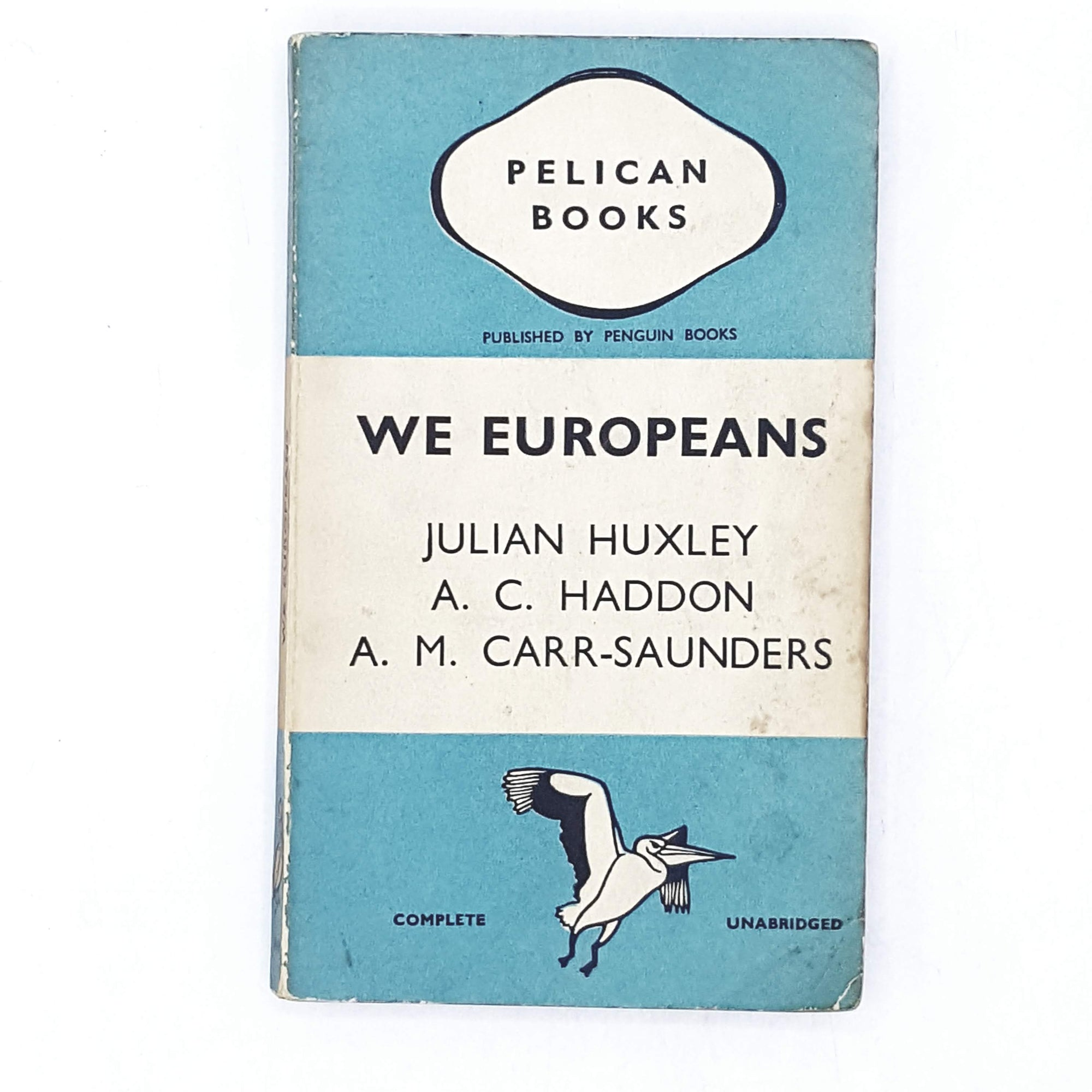 We Europeans by Julian Huxlery 1939