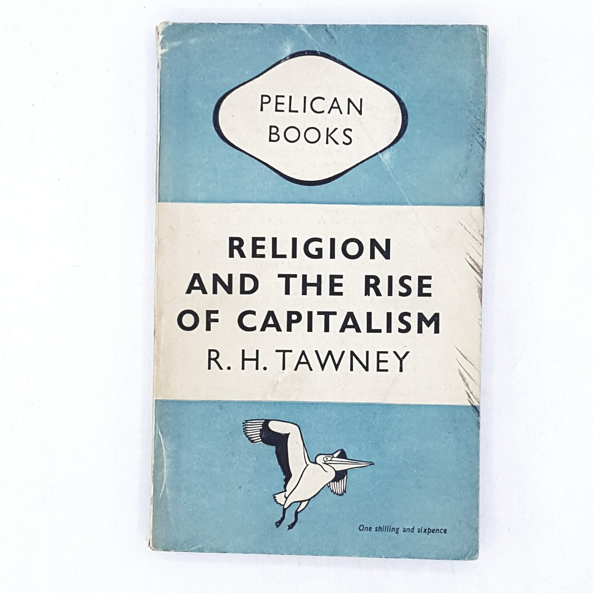 Religion and the Rise of Capitalism by R. H. Tawney 1948