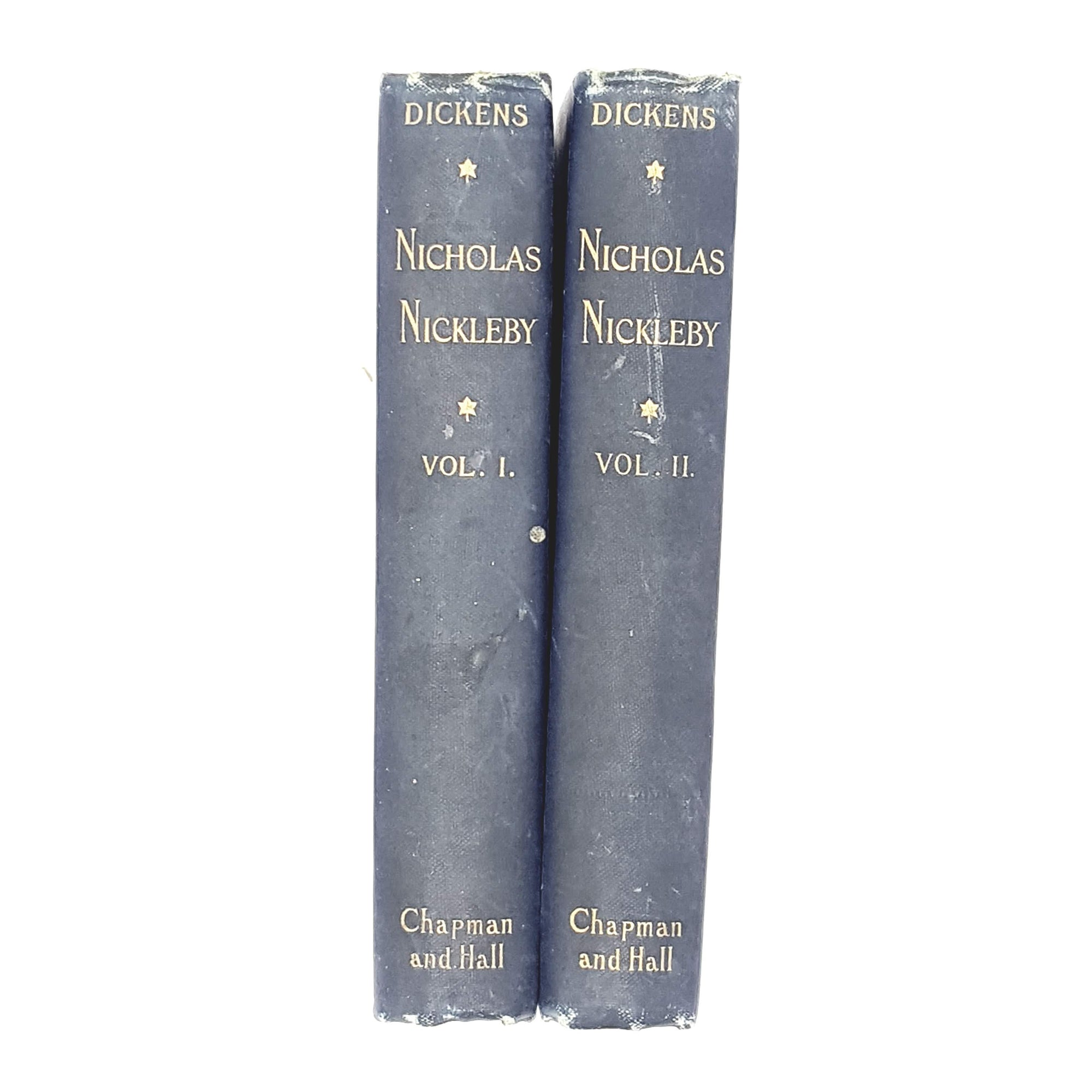 Collection Charles Dickens's Nicholas Nickleby 1889