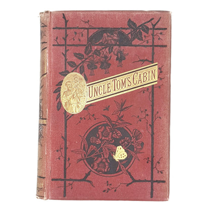 Illustrated Uncle Tom's Cabin by Harriet Beecher Stowe 1886