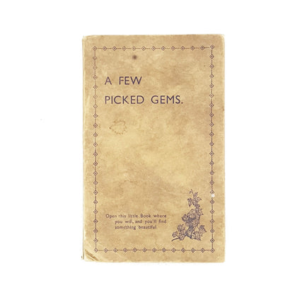 A Few Picked Gems by H. J. Green 1936