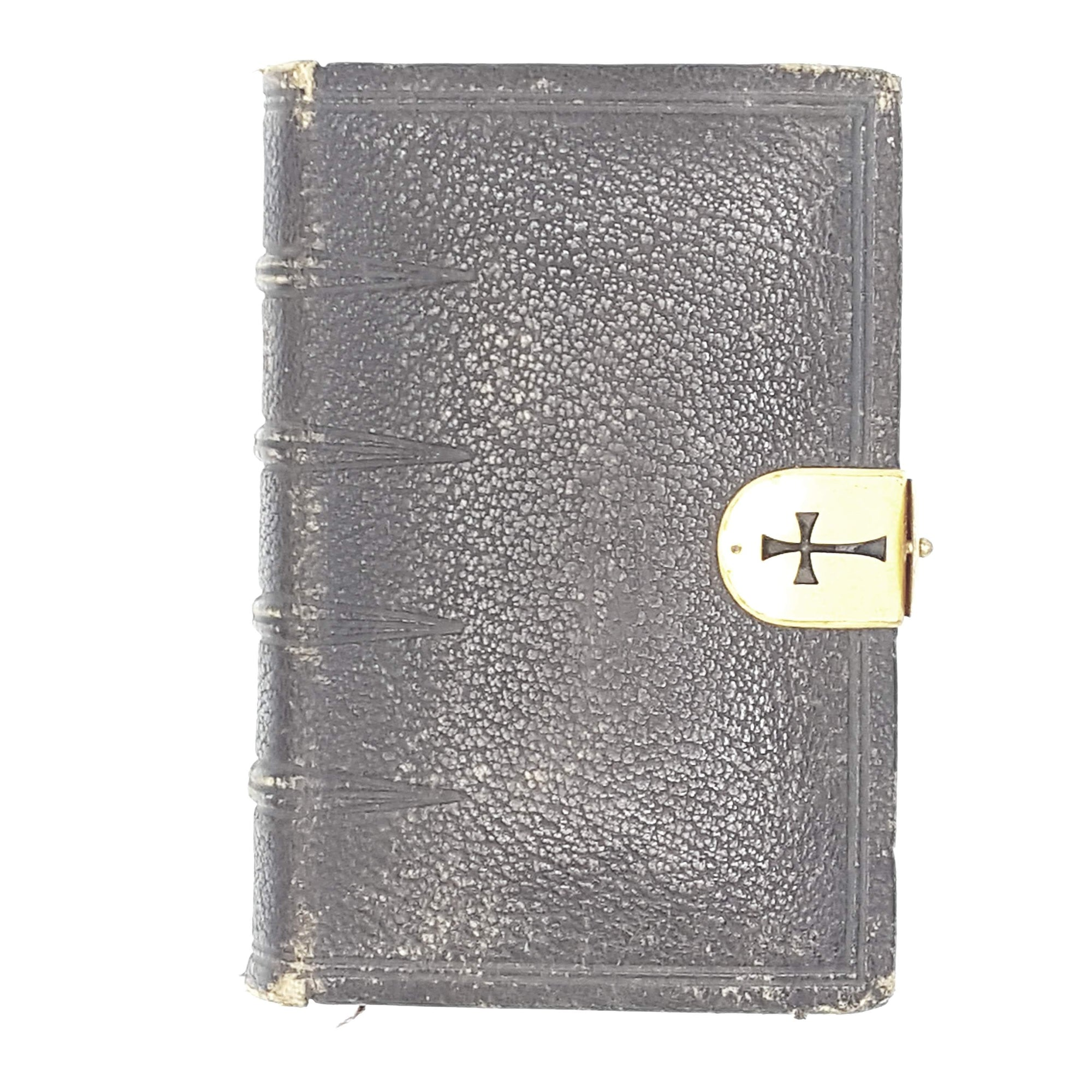 Book of Common Prayer with golden side-lock c1878