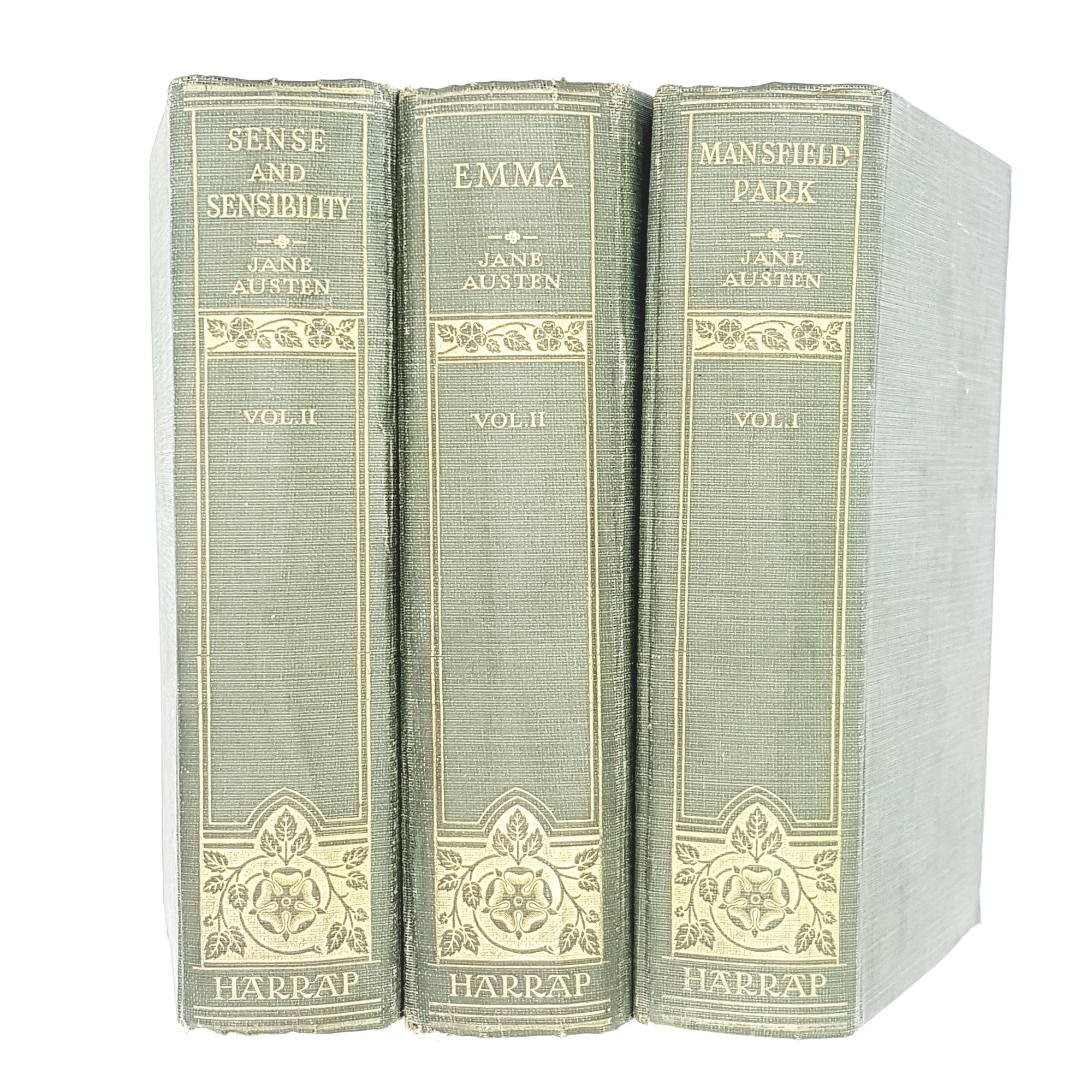 Collection Novels of Jane Austen 1925