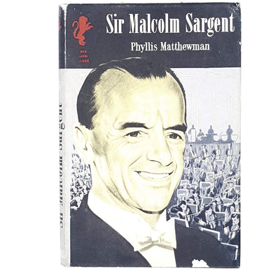Sir Malcolm Sargent by Phyllis Matthewman 1959