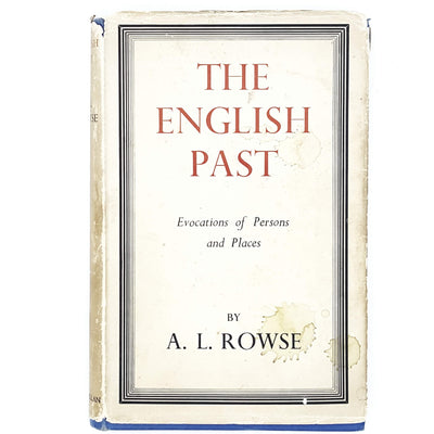 The English Past by A. L. Rowse 1951
