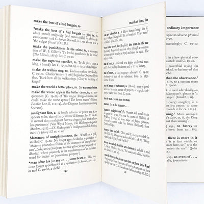 A Dictionary of Clichés by Eric Partridge 1941
