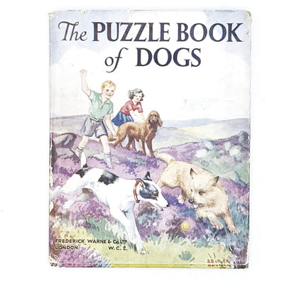 The Puzzle Book of Dogs by Clifford L. B. Hubbard 1949