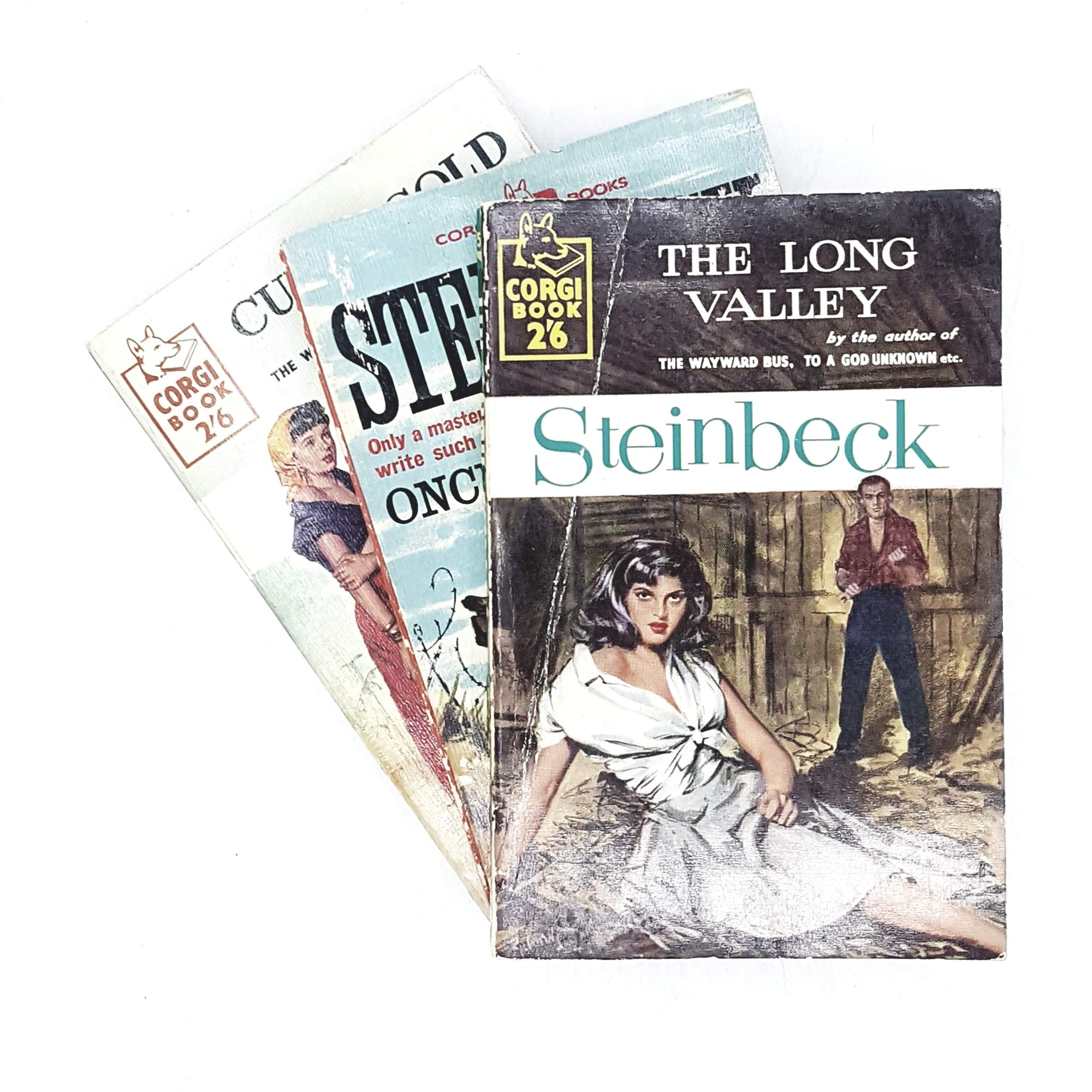Collection John Steinbeck's Novels 1958 - 1961