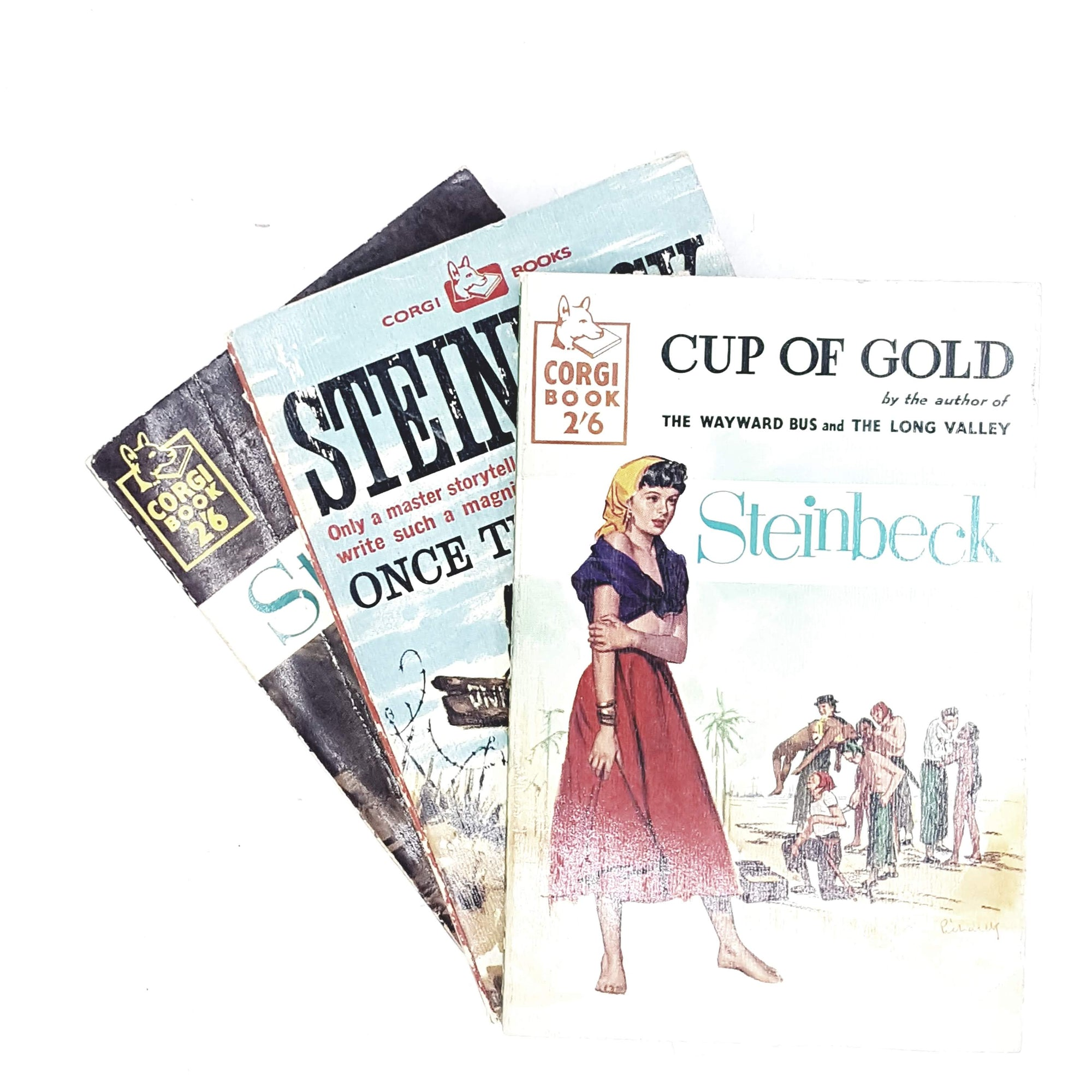 John Steinbeck Collection: 3 Vintage Novels 1958 - 1961