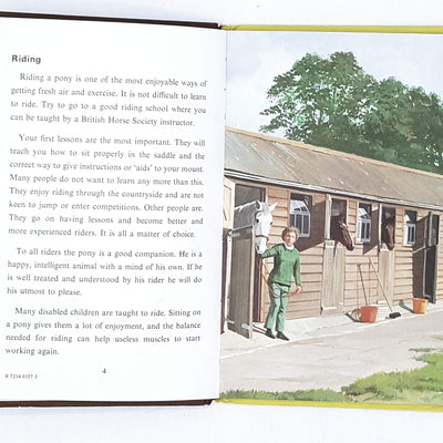 vintage-ladybird-learn-horse-riding-british-books-country-house-library