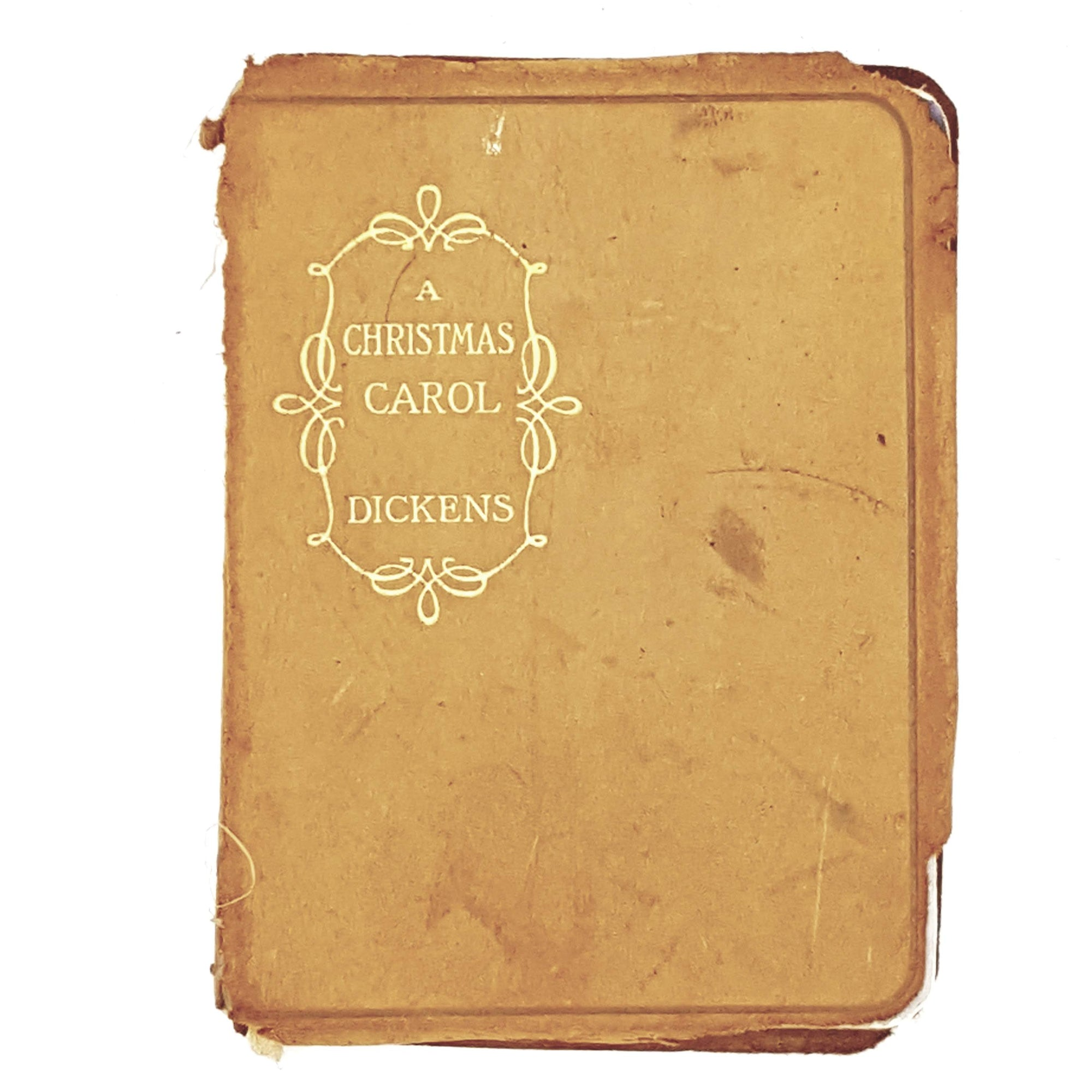 Leatherbound Charles Dickens's A Christmas Carol
