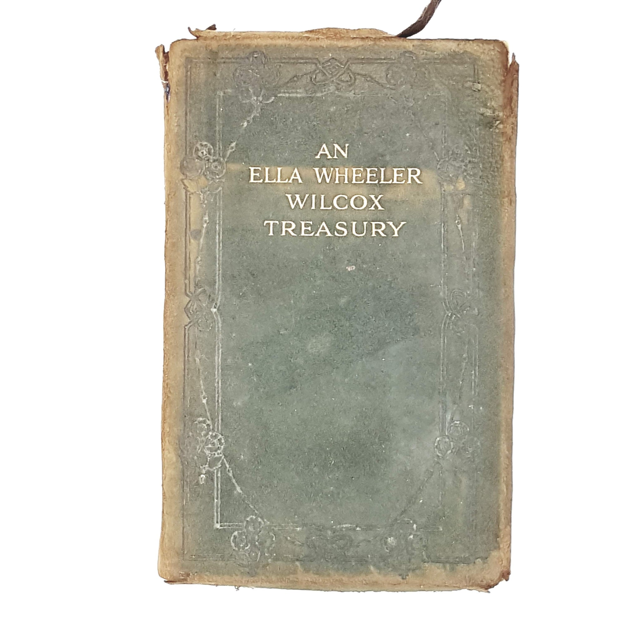 green-leather-ella-wheeler-wilcox-treasury-poetry-country-house-library