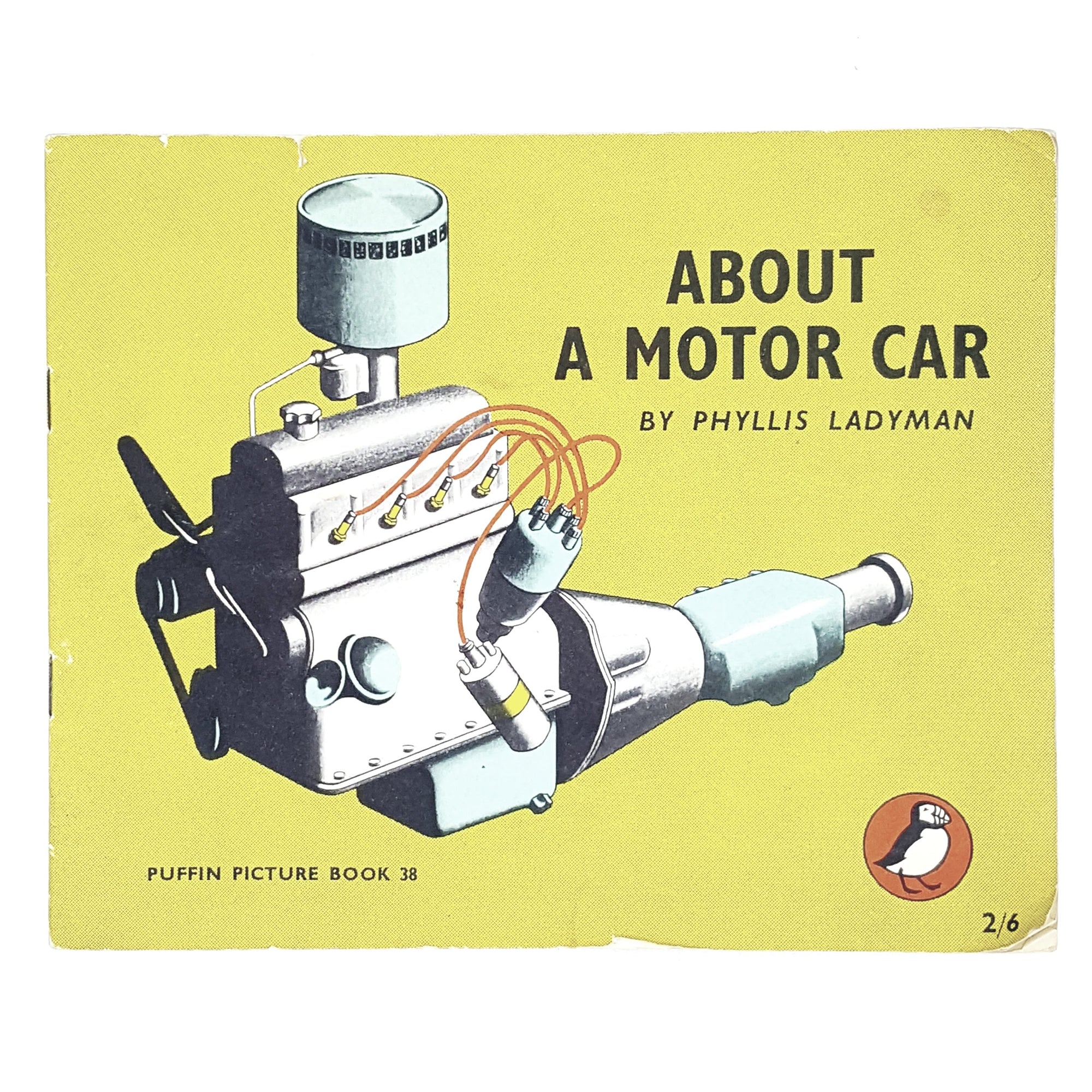 Vintage Puffin About A Motor Car by Phyllis Ladyman 1948