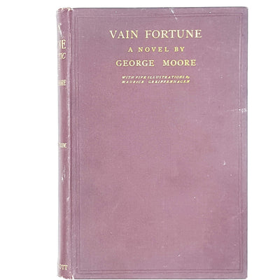 illustrated-vain-fortune-by-george-moore-red-country-house-library