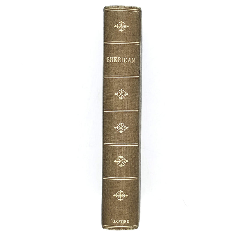 The Dramatic Works of Richard Brinsley Sheridan 1906