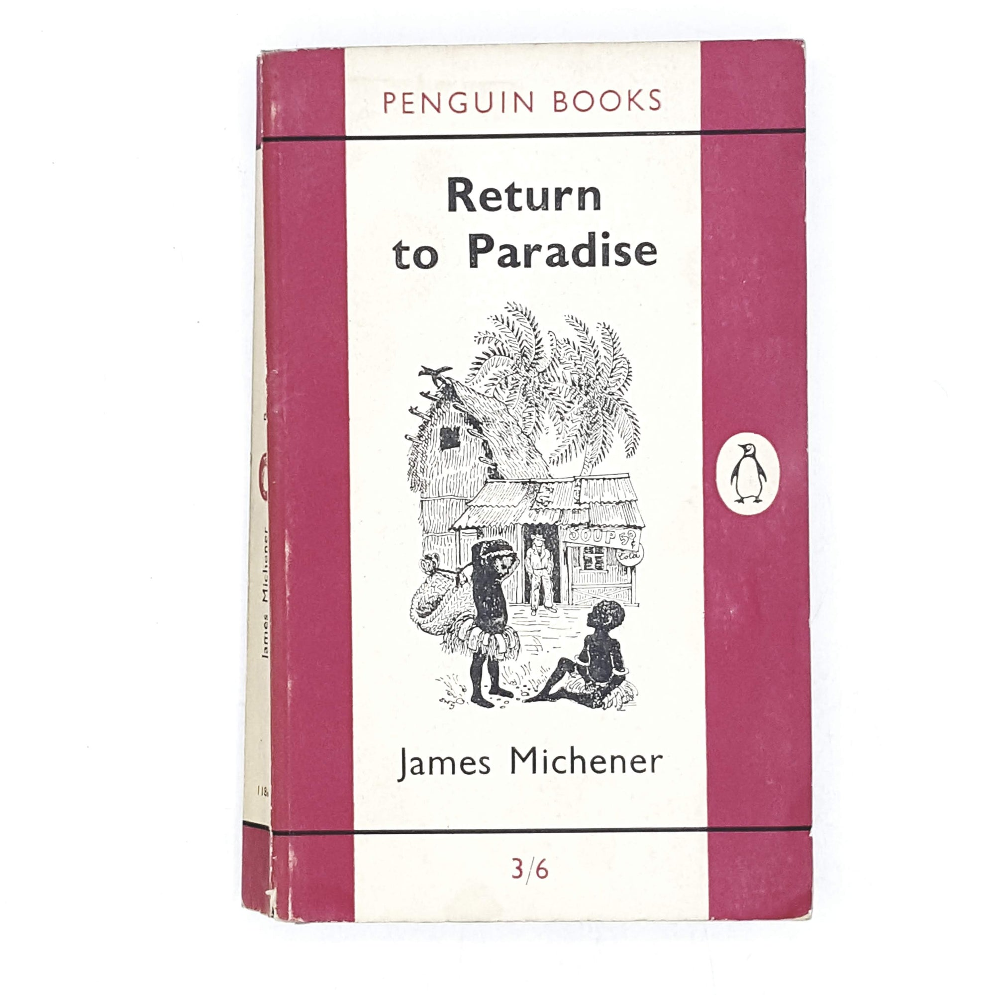 vintage-penguin-return-to-paradise-pink-travel-country-house-library