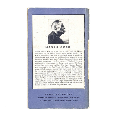 vintage-penguin-fragments-from-my-diary-by-maxim-gorki-lilac-violet-biography-country-house-library