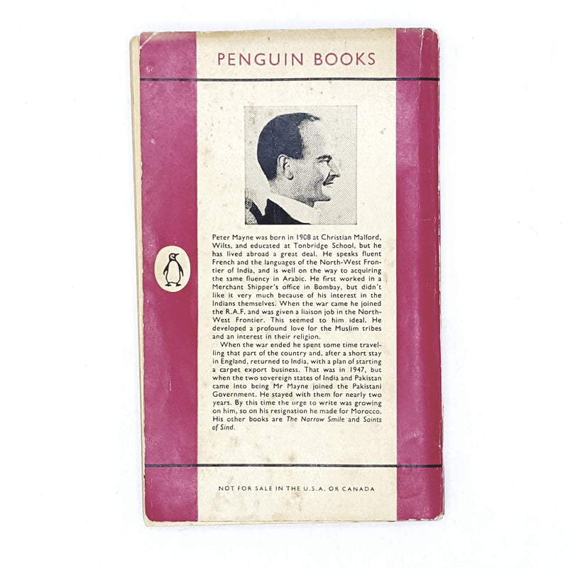 Vintage Penguin The Alleys of Marrakesh by Peter Mayne 1957