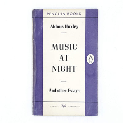 vintage-penguin-music-at-night-by-aldous-huxley-purple-country-house-library