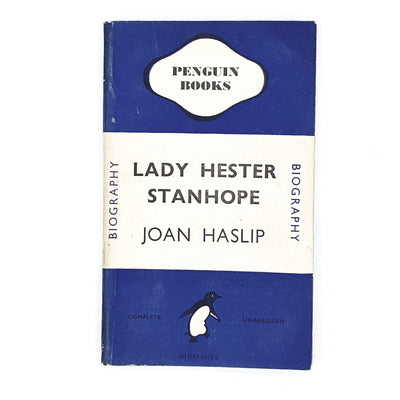 vintage-penguin-lady-hester-blue-biogr-country-house-libraryaphy