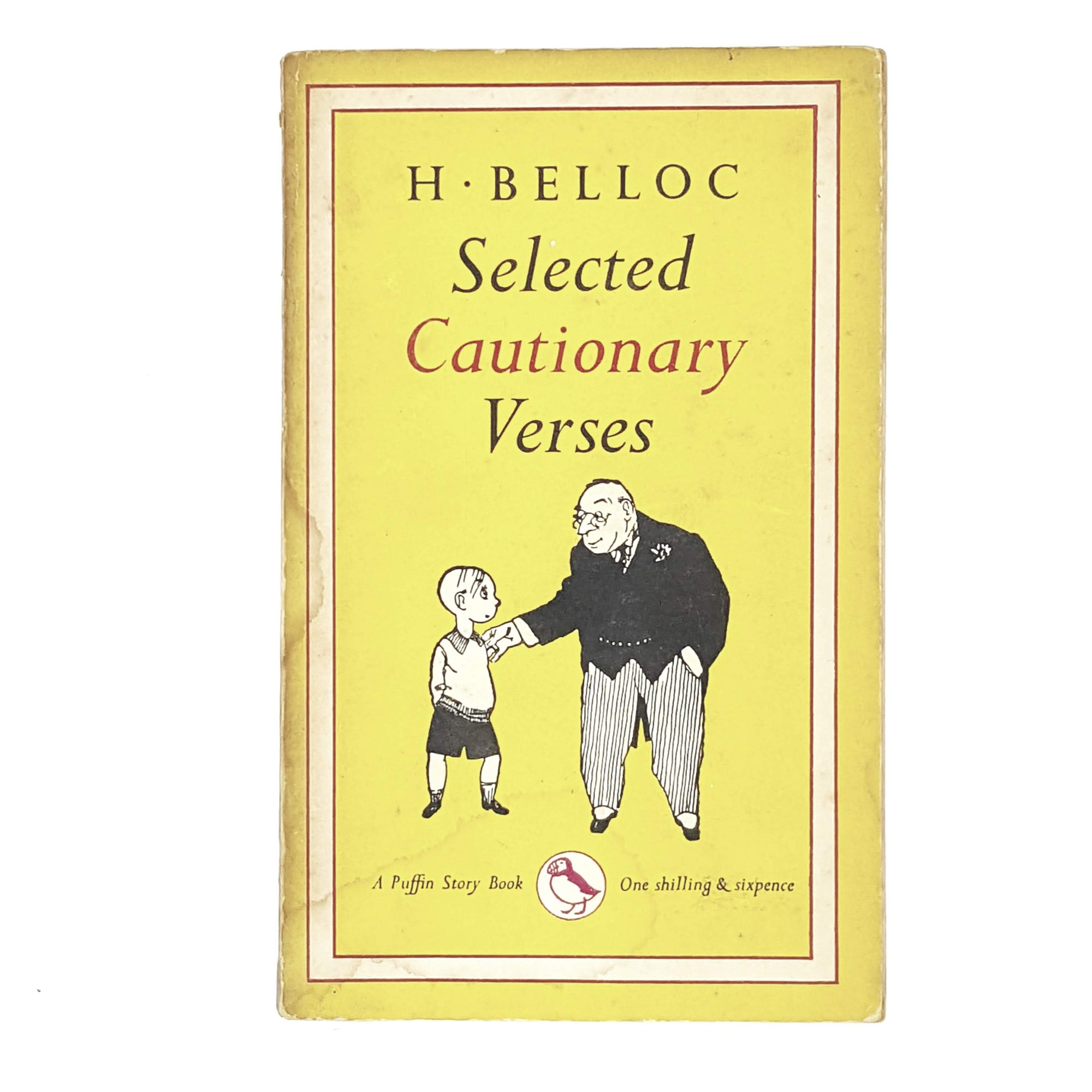 Vintage Puffin Selected Cautionary Verses by H. Belloc 1953