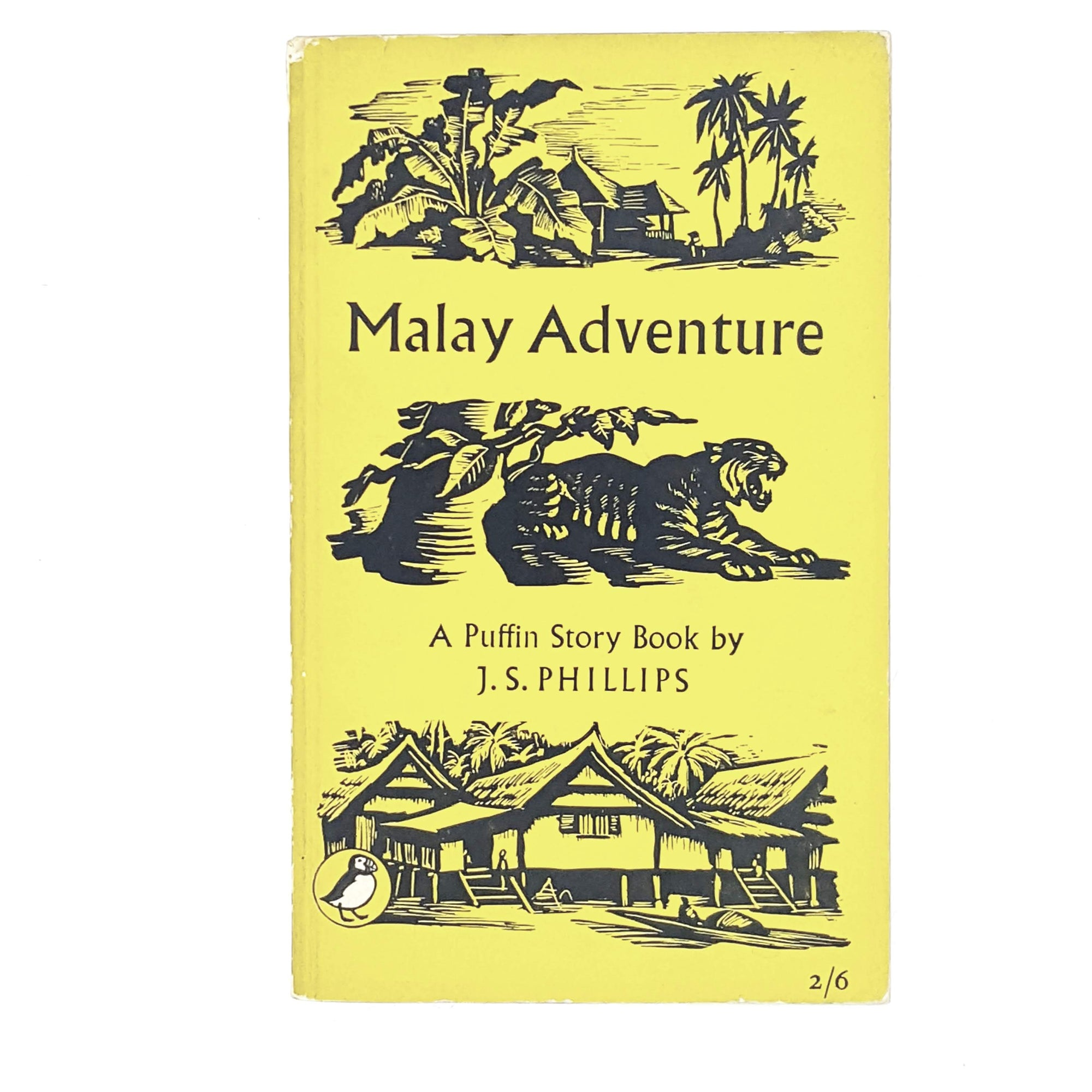 Vintage Puffin Malay Adventure by J. S. Phillips 1955