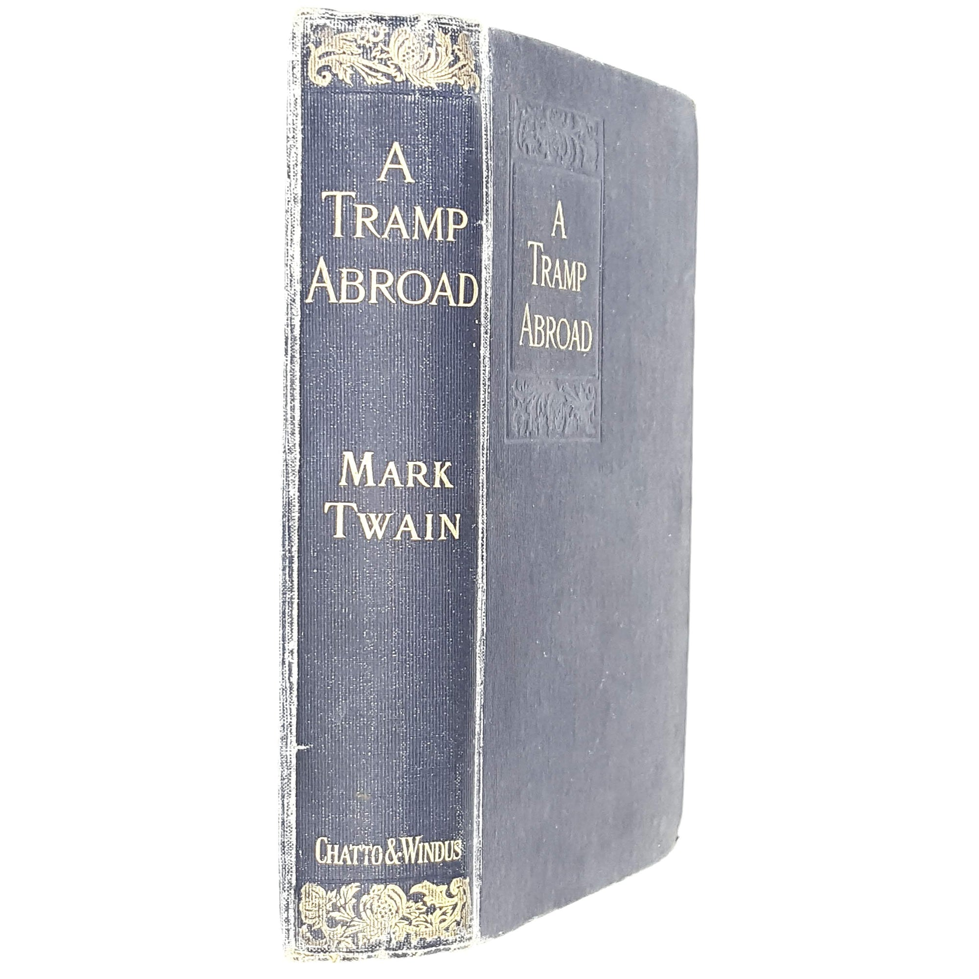 Illustrated Mark Twain's A Tramp Abroad 1918