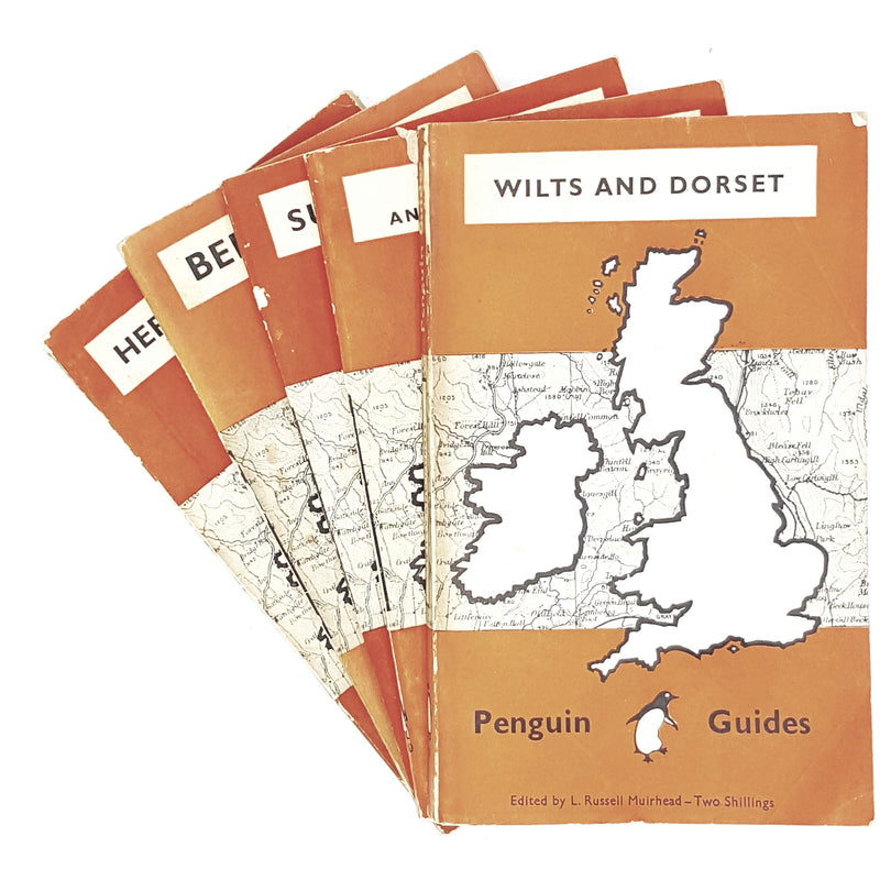 Penguin Collection: Guides of Britain 1949 - 1950