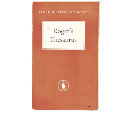 vintage-penguin-rogets-thesaurus-orange-country-house-library