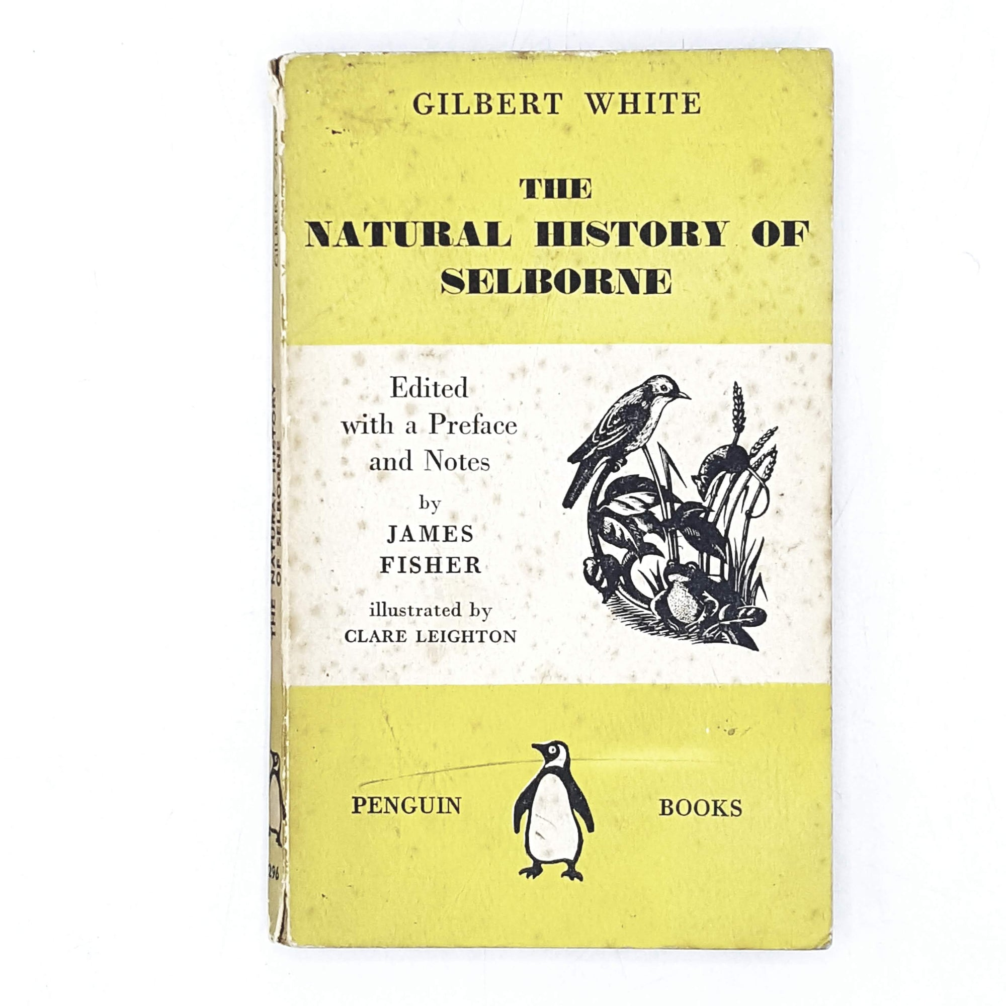 Vintage Penguin The Natural History of Selborne by Gilbert White 1941