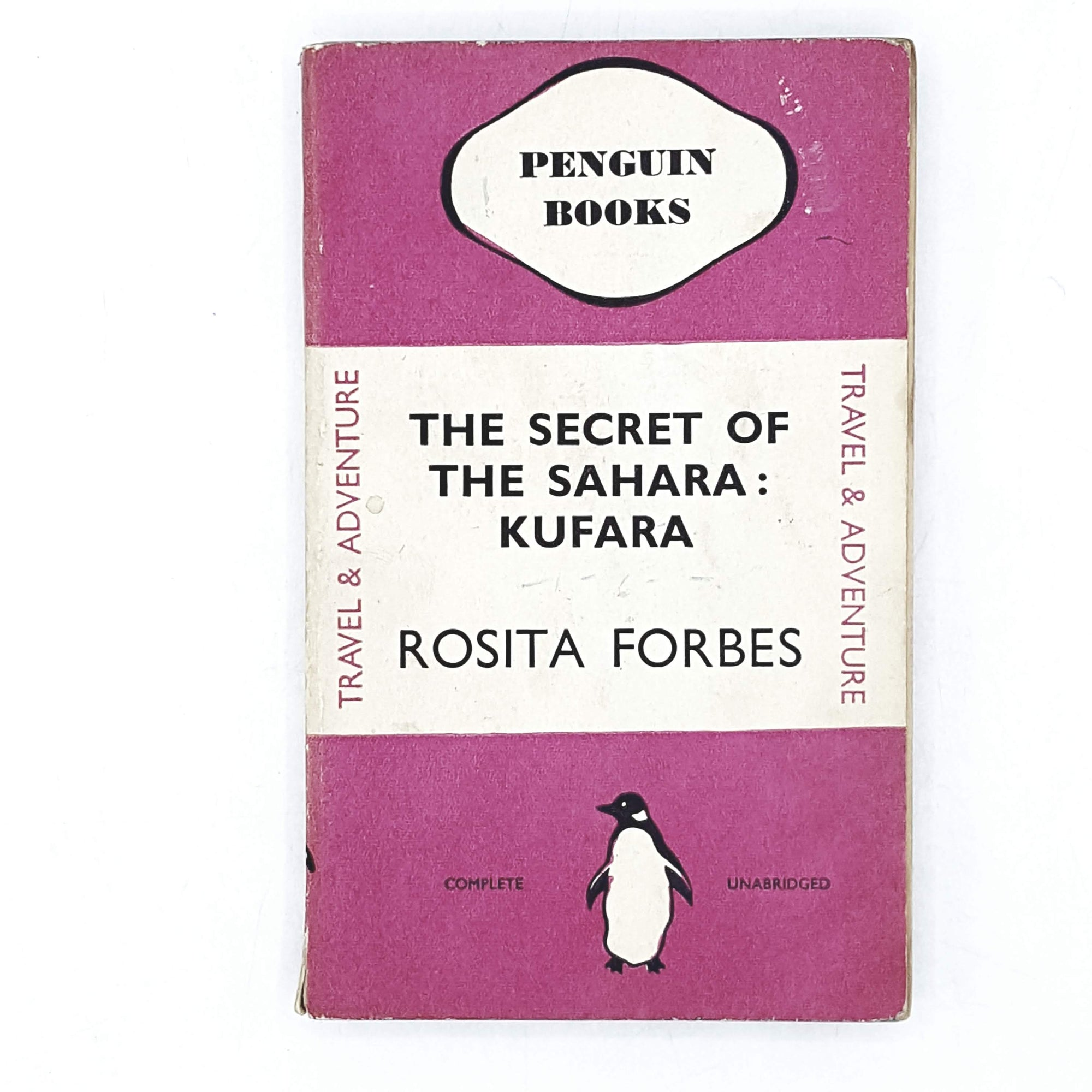 Vintage Penguin The Secret of the Sahara: Kufara by Rosita Forbes 1937