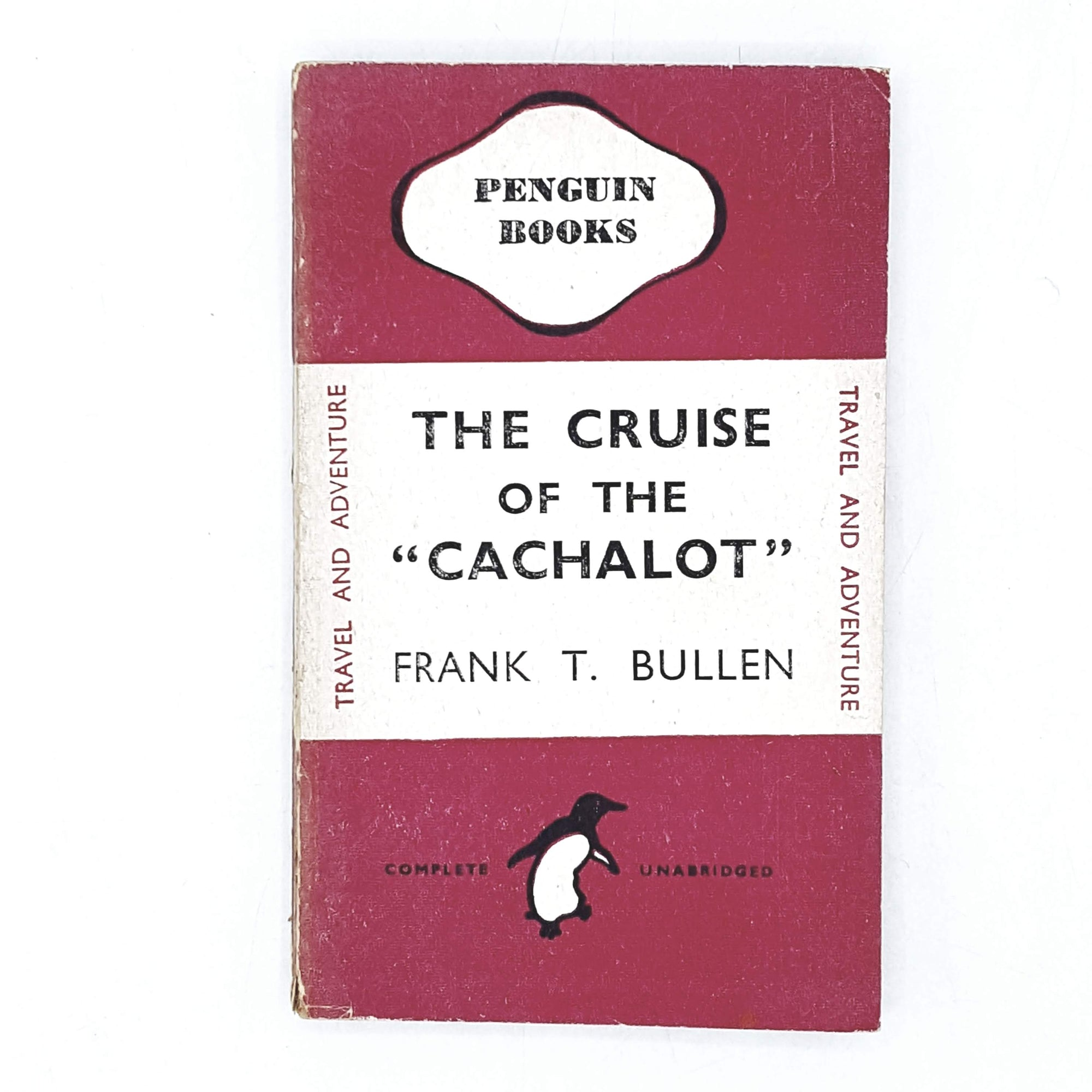 "Vintage Penguin The Cruise of the ""Cachalot"" by Frank T. Bullen 1944"