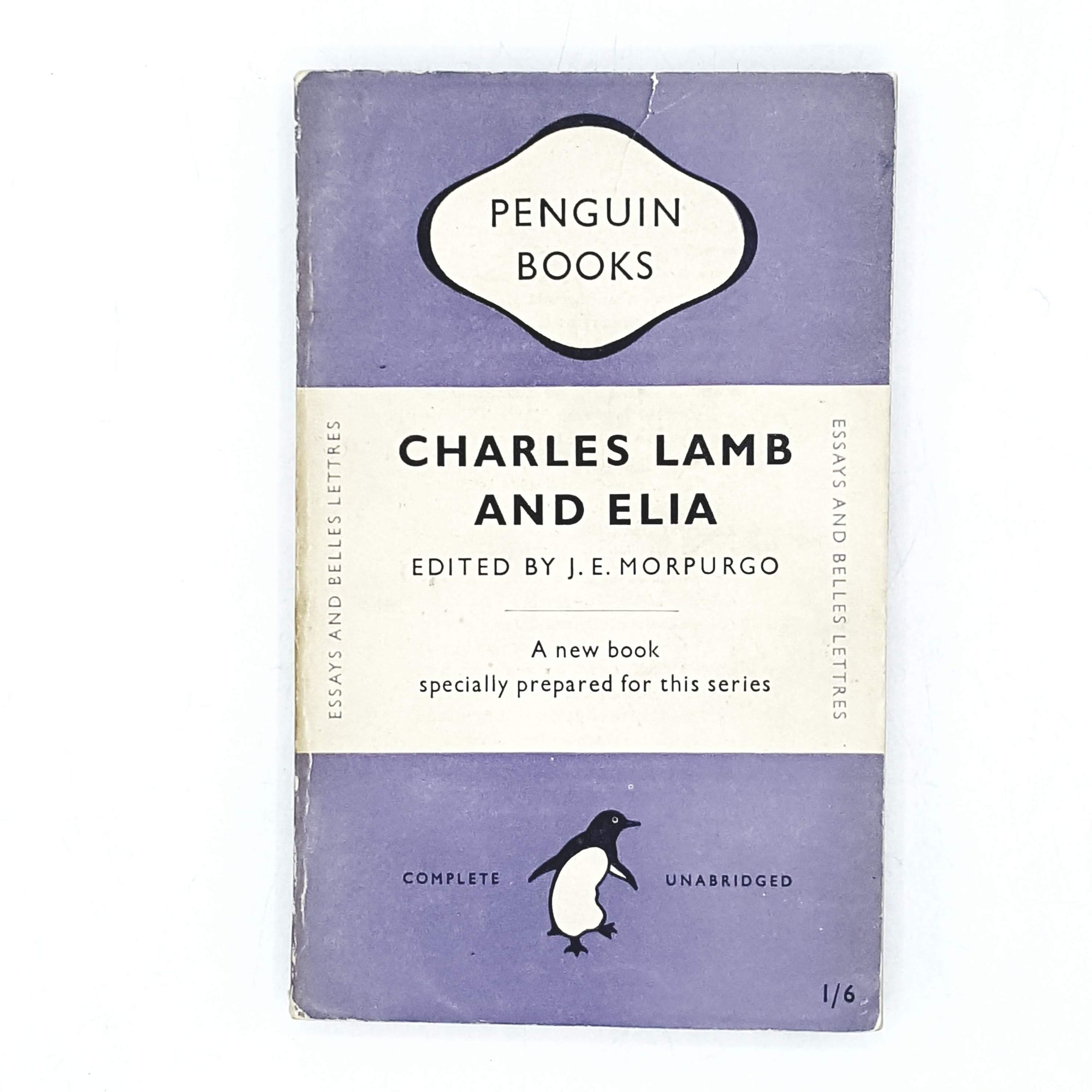 Charles Lamb and Elia by J. E. Morpurgo 1948