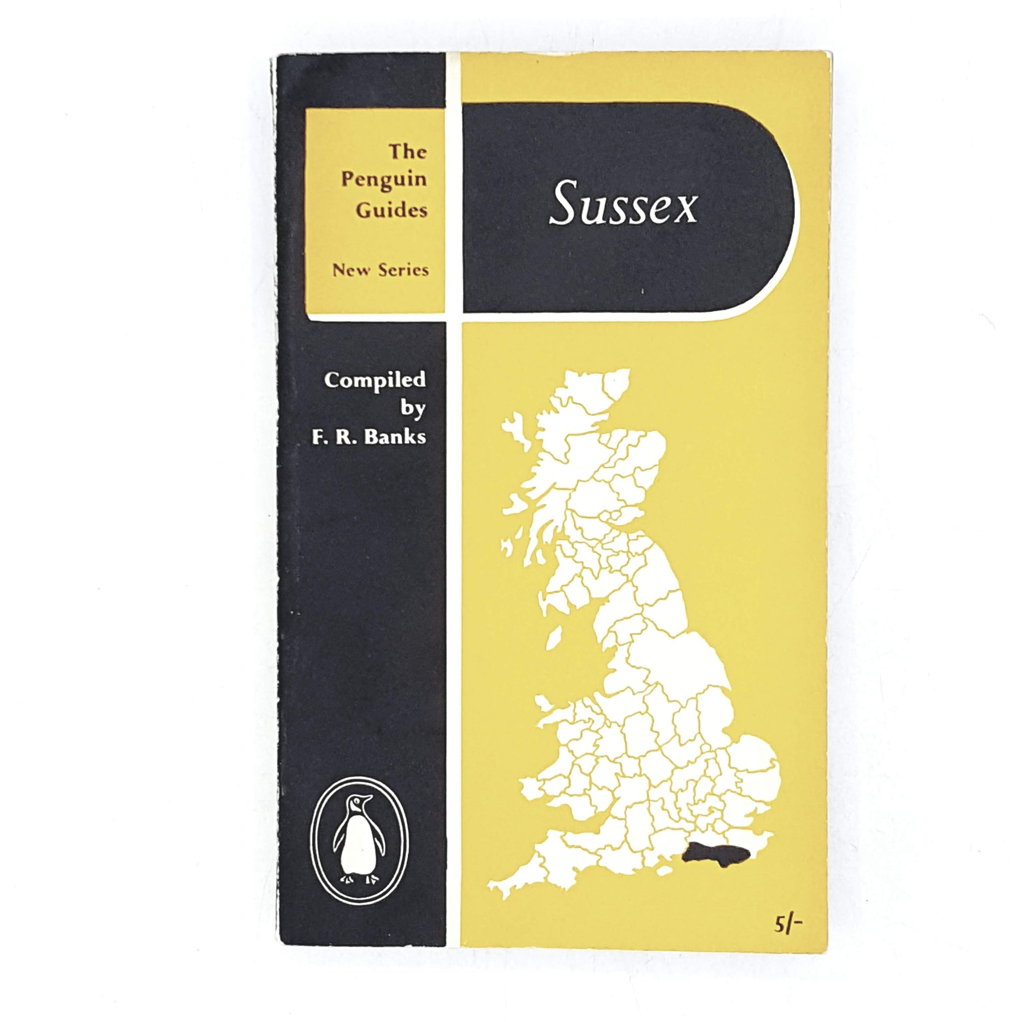 Vintage Penguin Sussex by F. R. Banks 1957