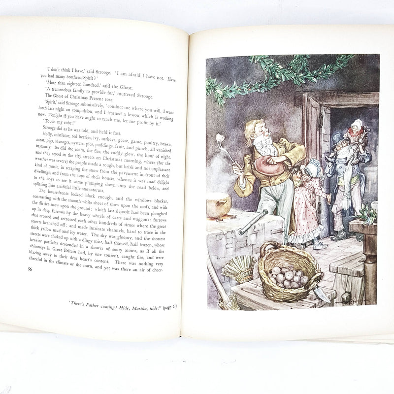 Illustrated Charles Dickens's A Christmas Carol Grosset & Dunlap