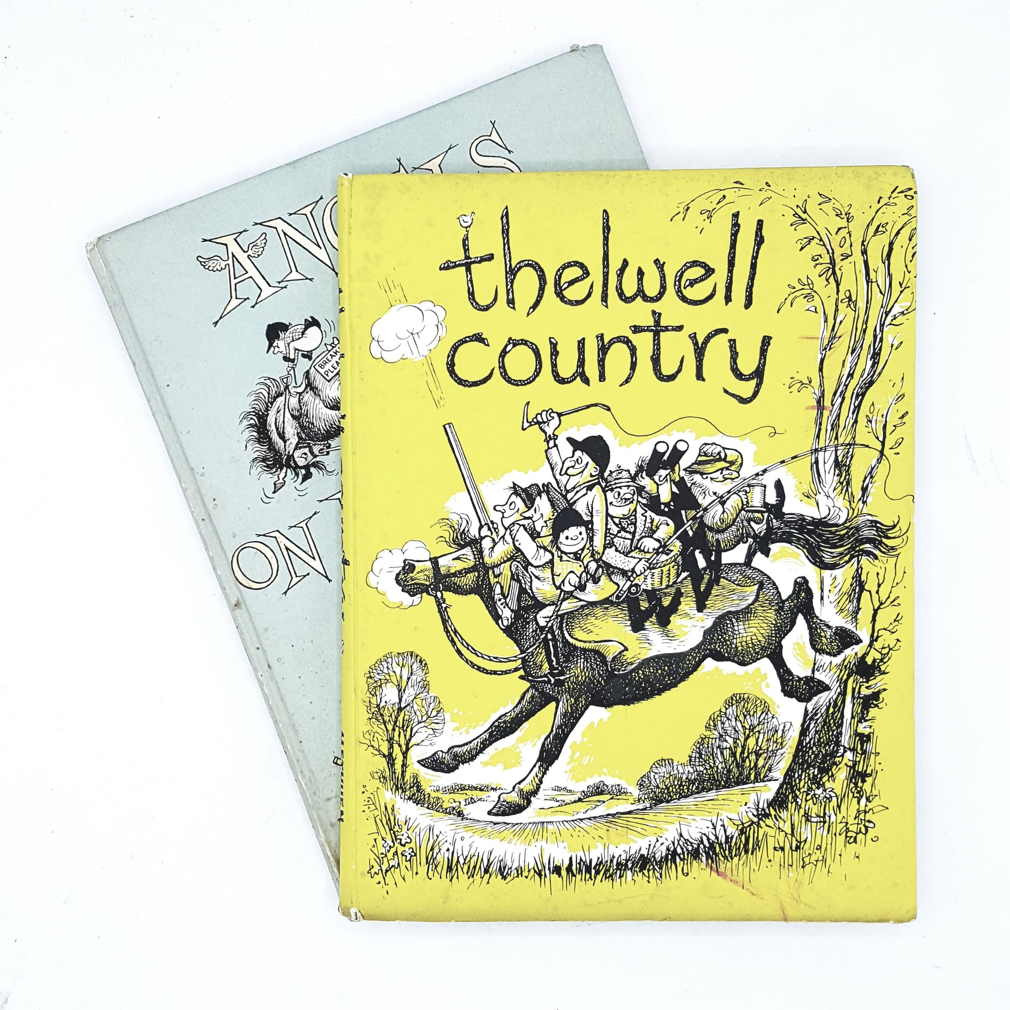 Thelwell Collection: Thelwell Country and Angels on Horseback 1959 - 1968