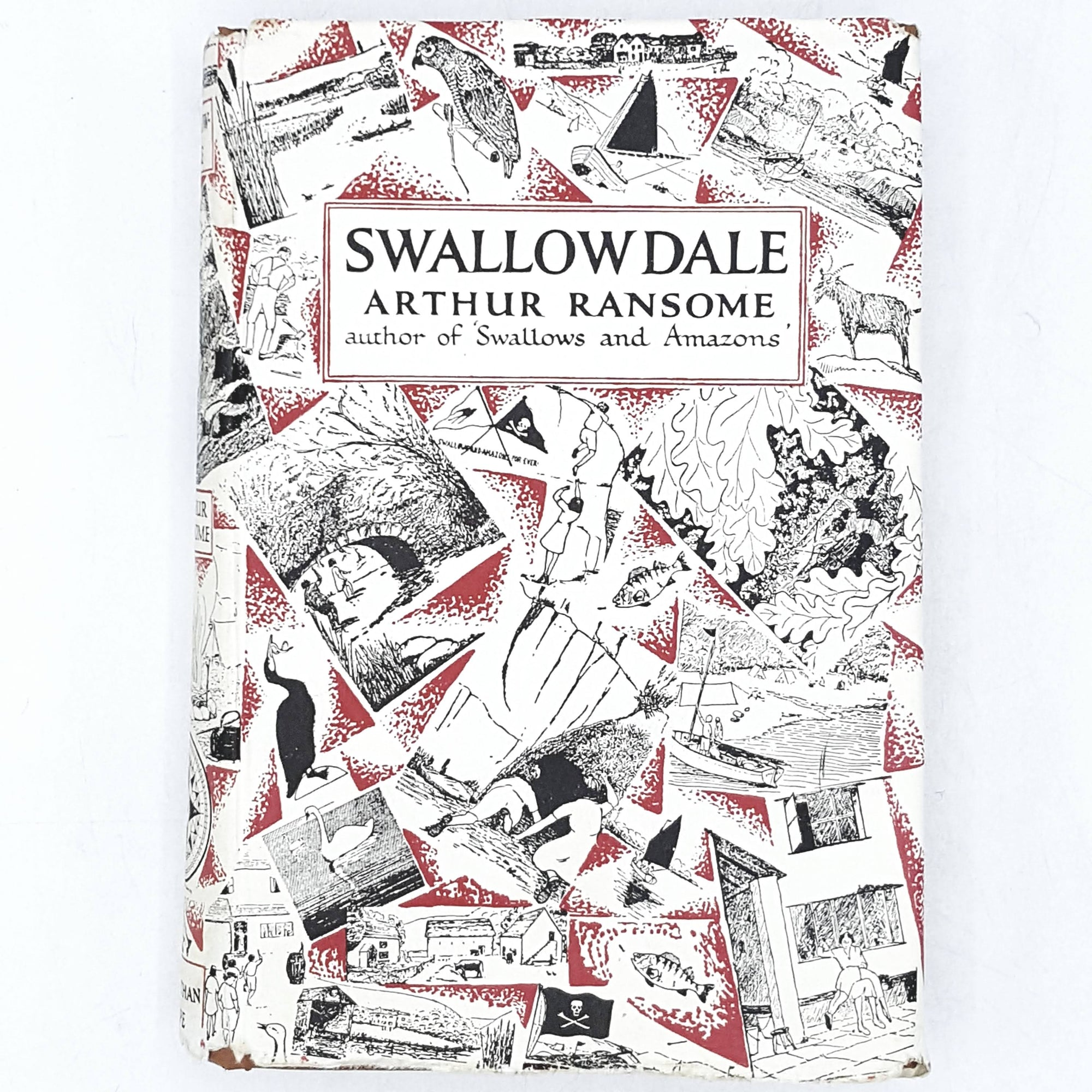 Illustrated Swallowdale by Arthur Ransome 1968