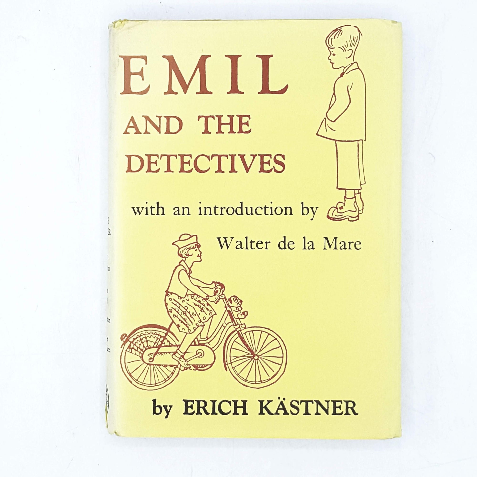 Illustrated Emily and the Detectives by Erich Kästner