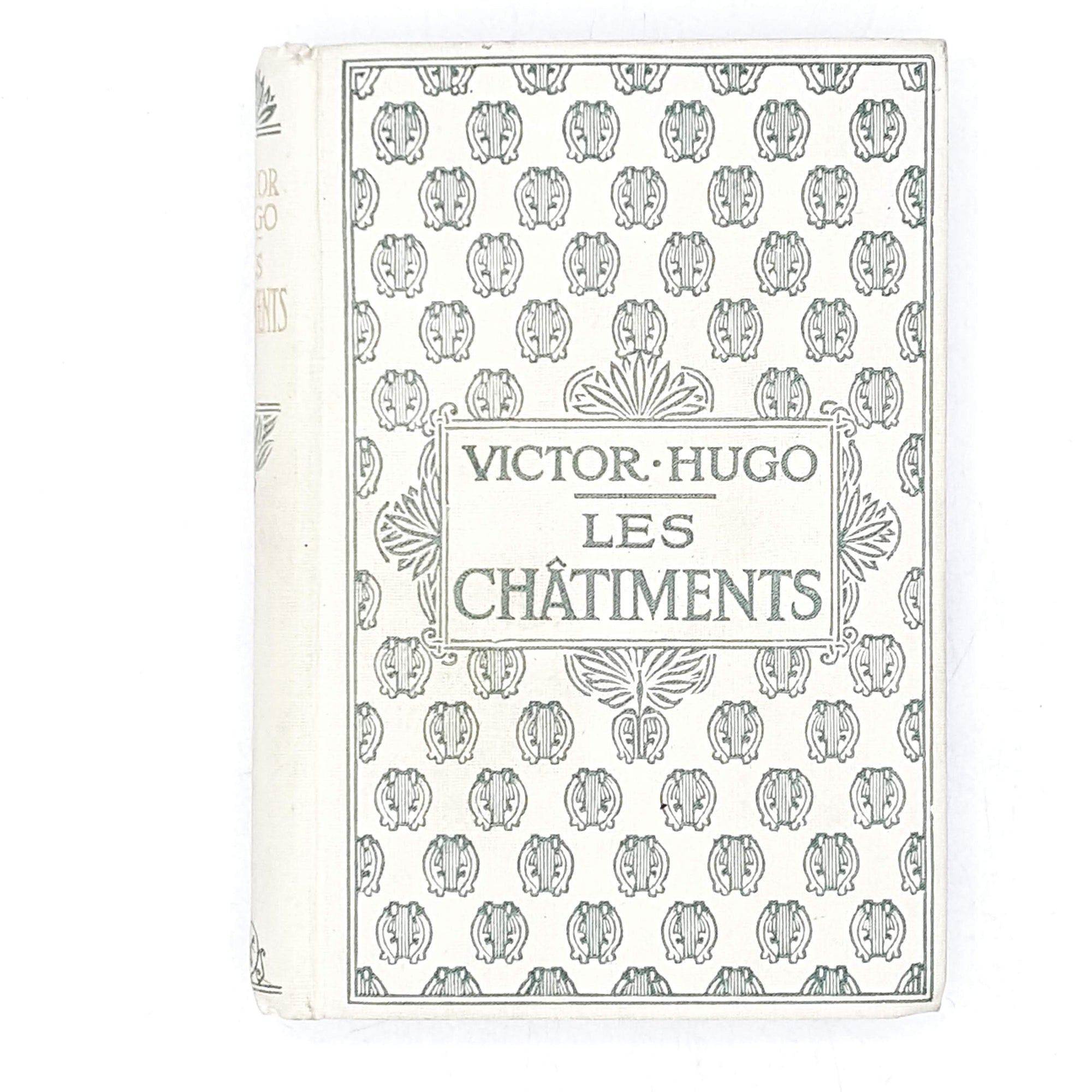 Vintage French Literature: Les Châtiments by Victor Hugo 1934