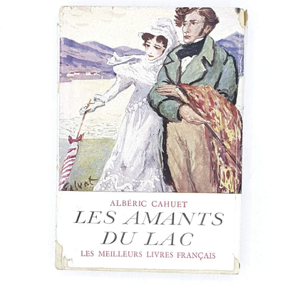 vintage-french-literature-les-amants-du-lac-by-alberic-cahuet-1945-country-house-library