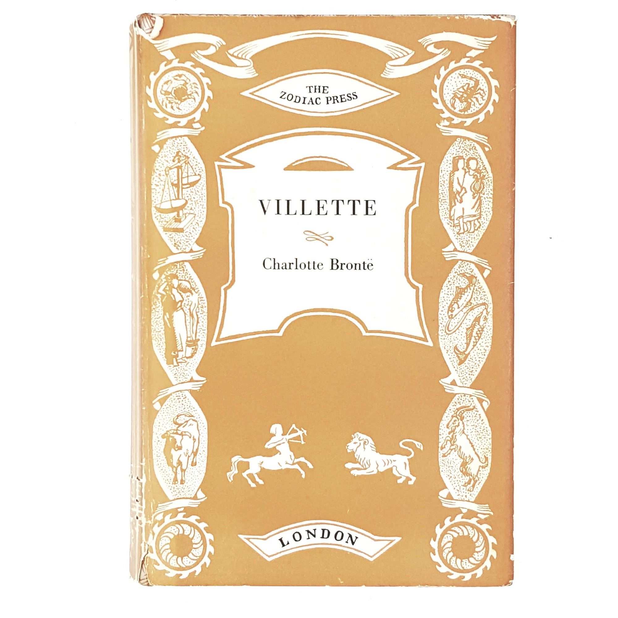 charlotte-brontes-villette-orange-classic-country-house-library