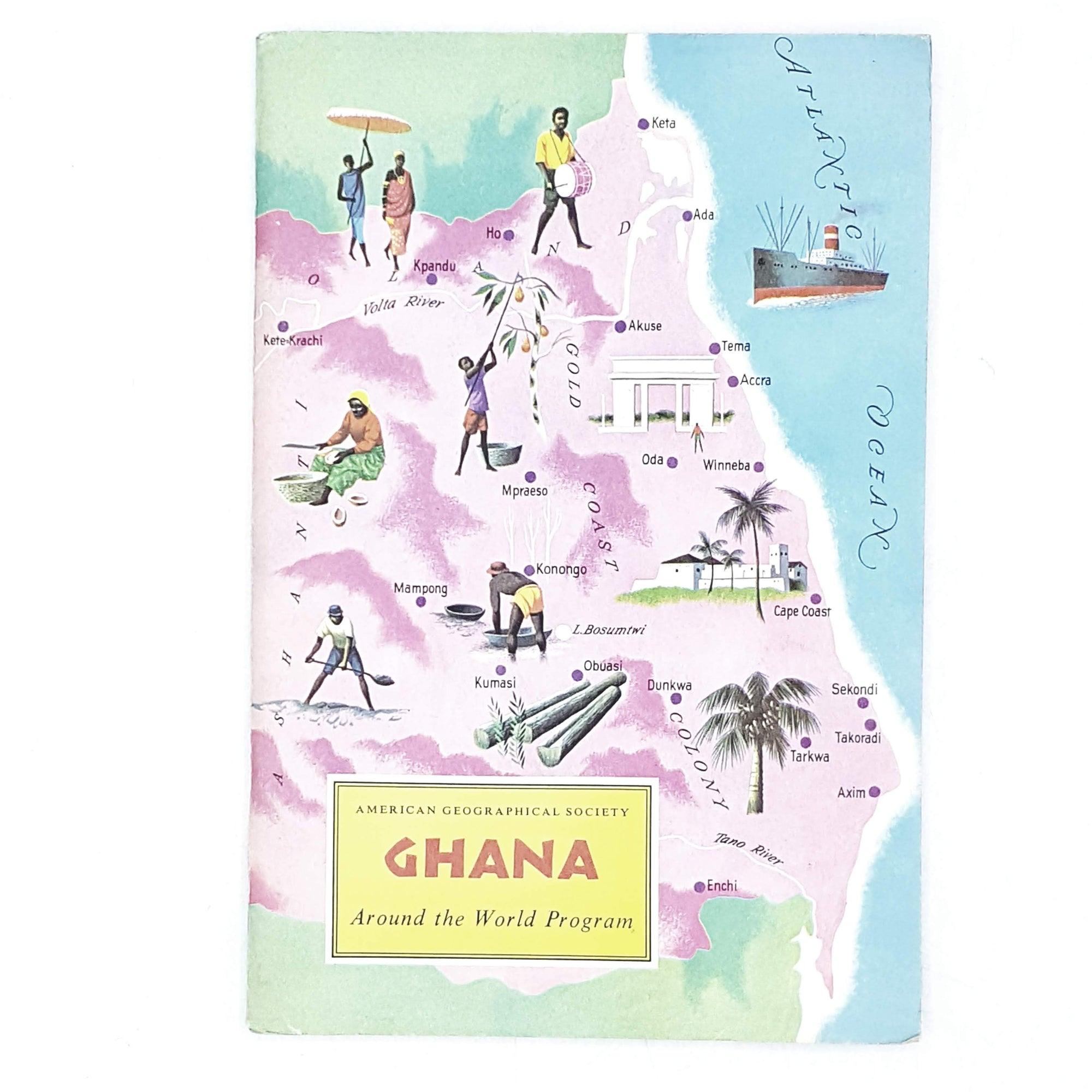 Vintage Travel: Ghana by Dr. George Kimble 1965