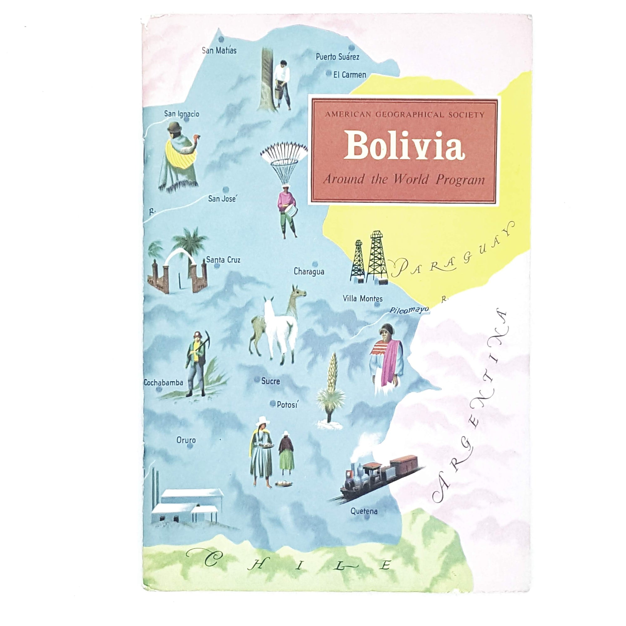 Vintage Travel: Bolivia by Earl Parker Hanson 1965